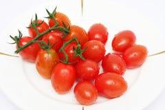 Tomates de chéri Photographie stock