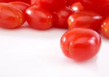 Tomates de la uva Imágenes de archivo libres de regalías