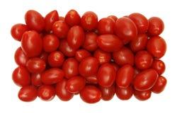 Tomates de la uva Imagen de archivo libre de regalías
