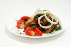 tomates de salade de rassemblement Image stock
