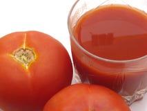 tomates de tomate de jus Images libres de droits