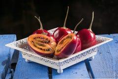 Tomates del ` s del árbol Fotografía de archivo