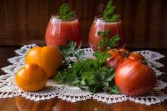 Tomates do cocktail Fotografia de Stock