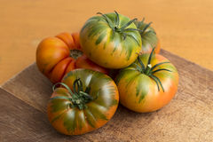 Tomates do Raf, verdes da salada Fotografia de Stock Royalty Free