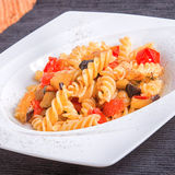 Tomates e beringelas da massa Fotos de Stock