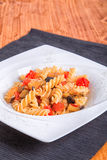 Tomates e beringelas da massa Imagem de Stock