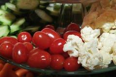 Tomates e couve-flor Imagem de Stock Royalty Free