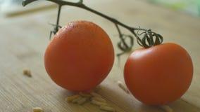 Tomates e sem-fins video estoque