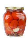 Tomates estanhados Fotografia de Stock
