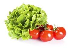 Tomates et laitue images libres de droits