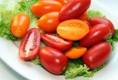 Tomates et laitue photos libres de droits