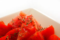 Tomates et origan 1 Photos libres de droits