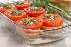 Tomates et pommes de terre images stock