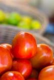 tomates Fim-vermelhos Fotos de Stock
