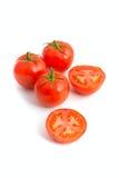 tomates fraîches de groupe Images libres de droits