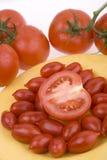 Tomates frescos Fotos de archivo