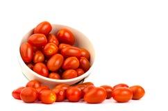 Tomates frescos Imagen de archivo libre de regalías