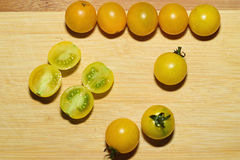 Tomates. Healthy vegetarian food. Cherry tomates Stock Images