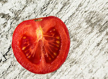 Tomates, incision Photos libres de droits