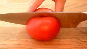 Tomates juteuses et mûres banque de vidéos