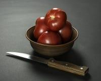 Tomates maduros Fotografía de archivo libre de regalías