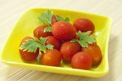 Tomates maduros Fotografía de archivo