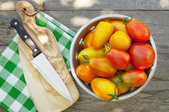 Tomates maduros frescos Foto de Stock Royalty Free