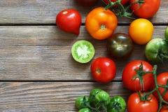 Tomates maduros frescos Fotografia de Stock Royalty Free