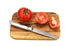 Tomates maduros frescos do close up isolados Imagem de Stock Royalty Free