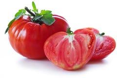 Tomates maduros grandes del corazón del buey Imagen de archivo libre de regalías