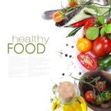 Tomates orgânicos frescos Fotografia de Stock