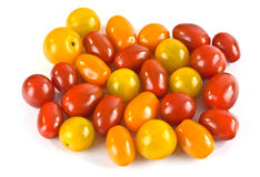 Tomates pequenos Foto de Stock Royalty Free