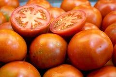 Tomates pleine page photographie stock