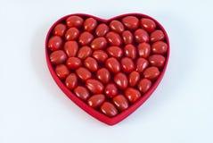 Tomates rojos del corazón Foto de archivo libre de regalías