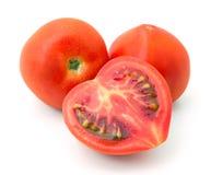 Tomates rojos maduros Fotografía de archivo libre de regalías