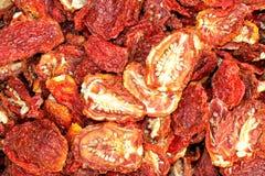 Tomates séchées au soleil Photos libres de droits