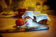 Tomates séchées au soleil Photo stock