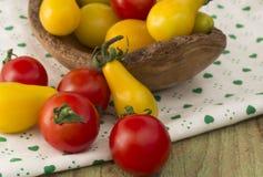 Tomates saborosos Foto de Stock Royalty Free