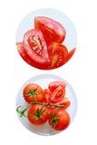 Tomates saborosos vermelhos maduros fotos de stock