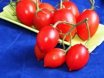Tomates savoureuses rouges Images libres de droits
