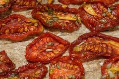 Tomates secados al sol Imagenes de archivo