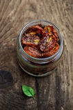 Tomates secados al sol Imágenes de archivo libres de regalías