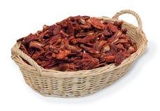 Tomates secados italianos Fotos de Stock