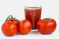 Tomates suculentos maduros Fotos de Stock