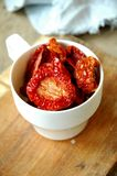 Tomates Sun-dried fotos de stock royalty free