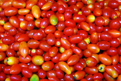 Tomates sur le marché. Image stock