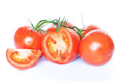 Tomates troceados Royalty Free Stock Photography