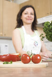 Tomates vermelhos Fotografia de Stock Royalty Free