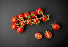 Tomates vermelhos frescos Foto de Stock