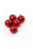Tomates vermelhos frescos do chery Fotografia de Stock